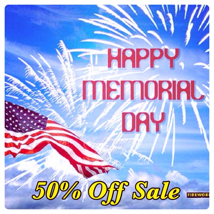 #HappyMemorialDay from your PERSONAL #MaryKay beauty consultant! Enjoy a 50% savings on ALL online orders through Monday May 26 4:00 pm. Pass the word! Happy shopping! (If you have a MK consultant, be sure to check with her for special deals) www.marykay.com/rozdavis115