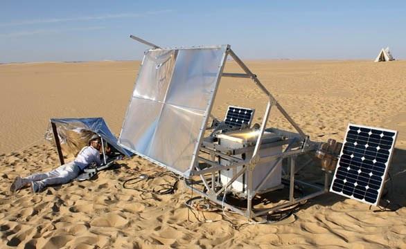 Solar sinter 3D printer, la stampante 3d che funziona con la sabbia e la forza del sole