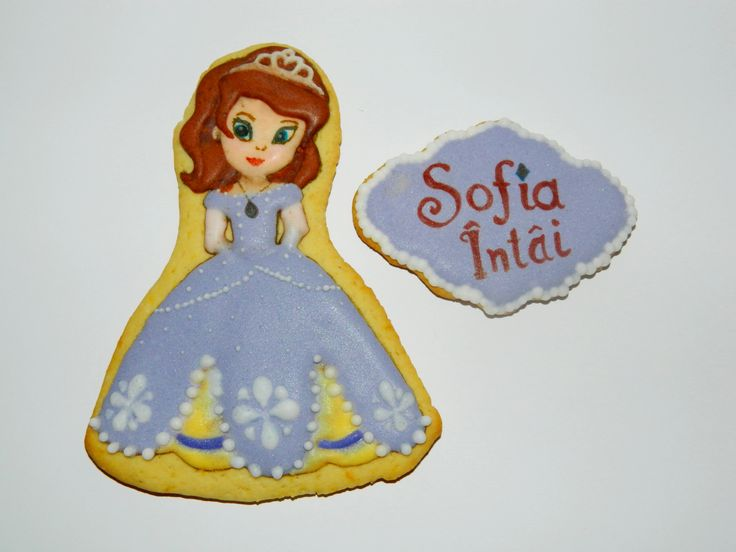 Princess Sofia the 1st cookie by Forget-me-not Cookies