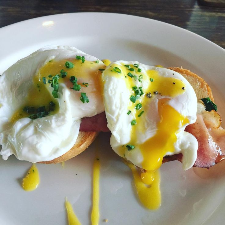 Good morning, perfectly runny egg yolk is ready to be served! Happy Saturday! Pic by  the_hungry_indian