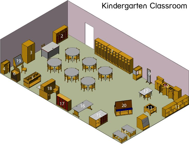 56 Best Images About Kindergarten Space Design On