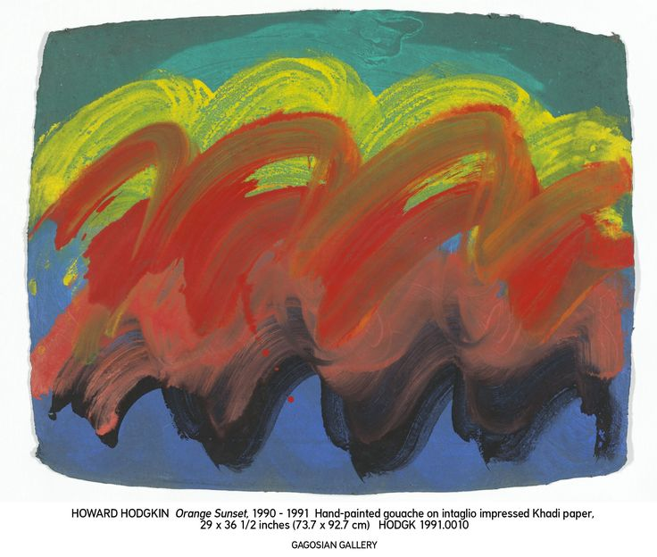 Newly Discovered art from Howard Hodgkin to be shown in London ...