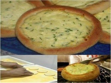 Receita Esfiha de queijo do habibs