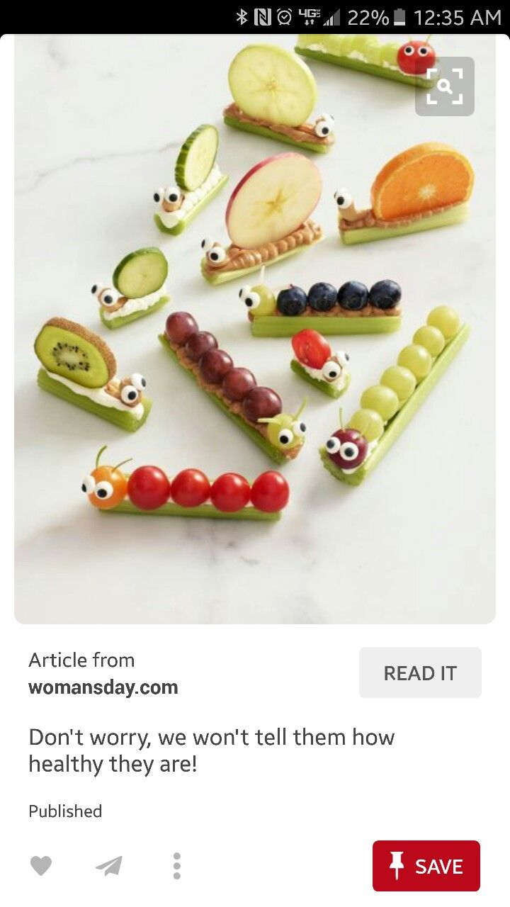 Kids fun snacks