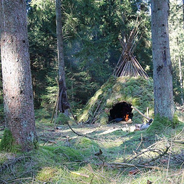 Bushcraft Survival Skills: 965 Best Bushcraft Shelters Images On Pinterest