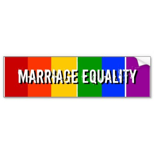 Gay Rights Bumper Sticker 94