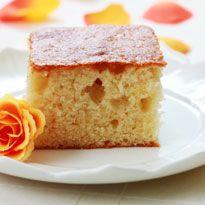 Eggless Atta Cake