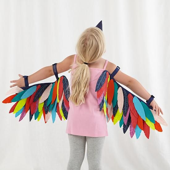 This concept with streamers for my super secret halloween costume for baby