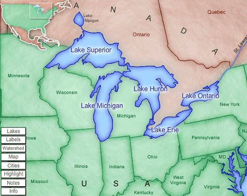 7 best great lakes images on pinterest great lakes michigan and nyt scientists startled at great lakes rise another warmist prediction is biting the dust sciox Image collections