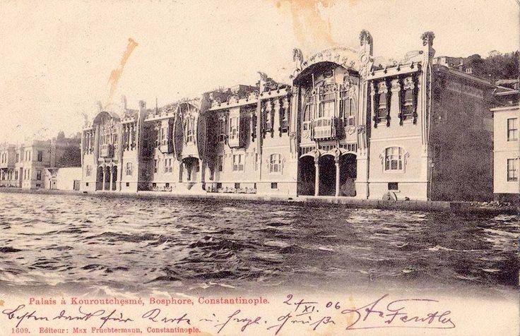 Kuruçeşme Naciye Sultan Sahil Sarayı (Palais a Kouroutchesmé. Bosphore).
