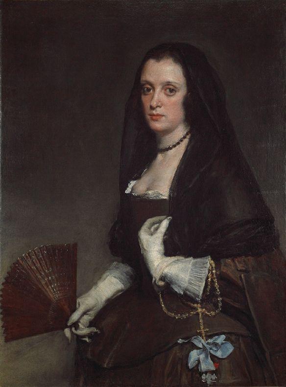 VELÁZQUEZ, La dama del abanico, 1635, Colección Wallace, Londres