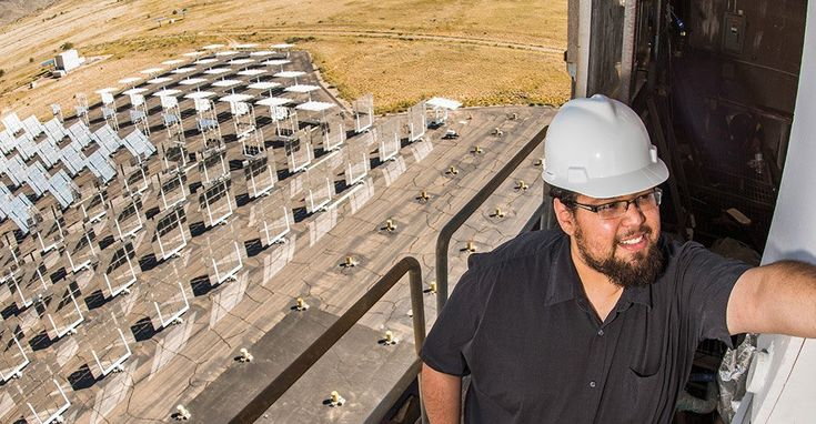 Sandia National Laboratories engineers developed more efficient concentrated solar power receivers with a fractal-like design.