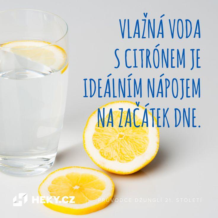 18 důvodů, proč po ránu pít vodu s citronem