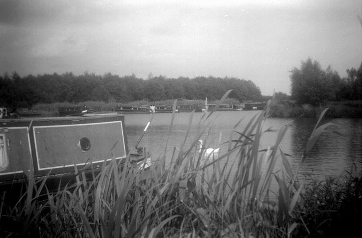 Taken with a 50's Box Brownie @ Calcutt Marina www.calcuttboats.com