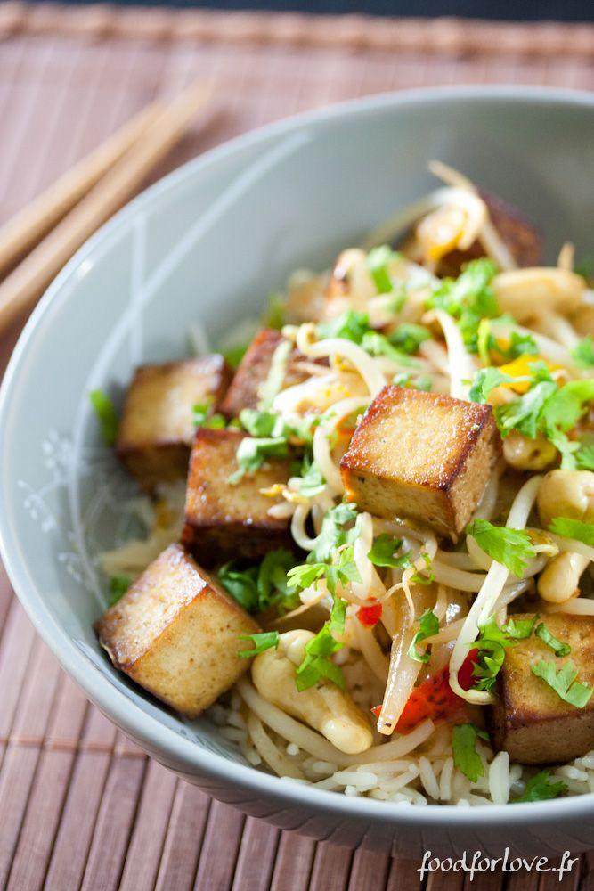 Wok de Tofu Fumé