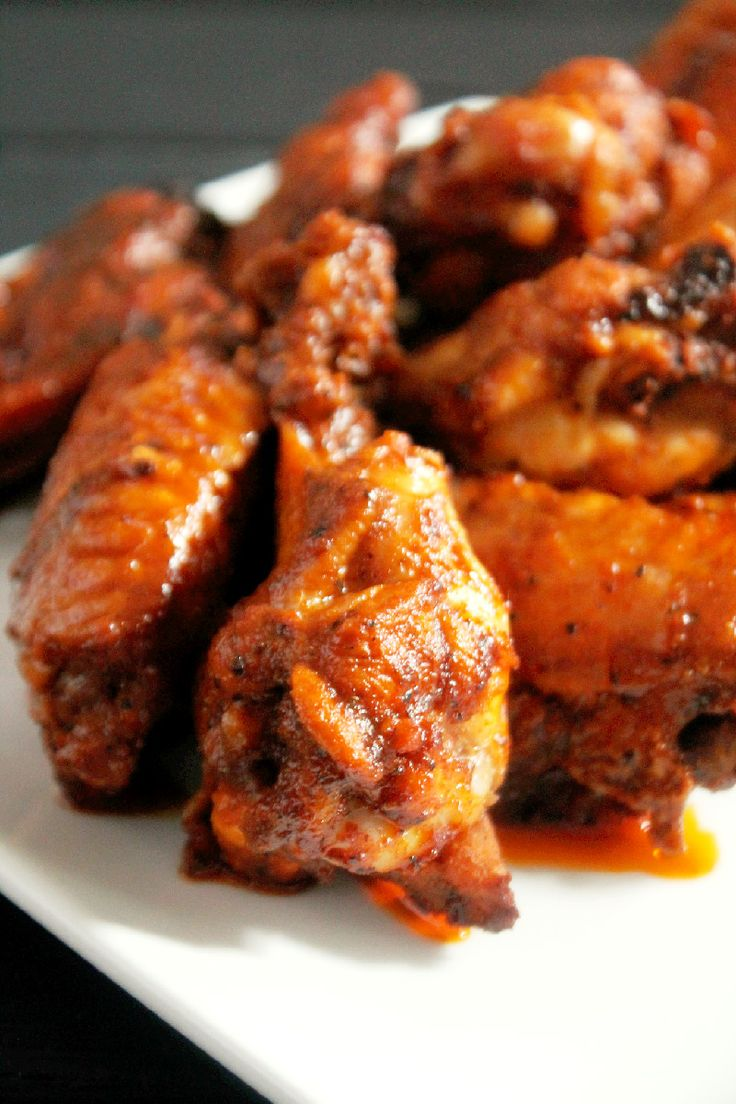 Spicy Baked Hot Wings | Creole Contessa - A fantastic spice blend makes these fantastic wings oh-so-flavorful!