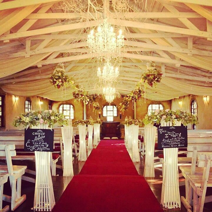 Our gorgeous romantic chapel www.casa-lee.co.za #casalee #weddings #pretoria #rusticvenue #pretoriavenues