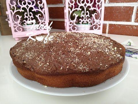 Pop Kek Tadında Muzlu Toz Pudingli Kek - YouTube