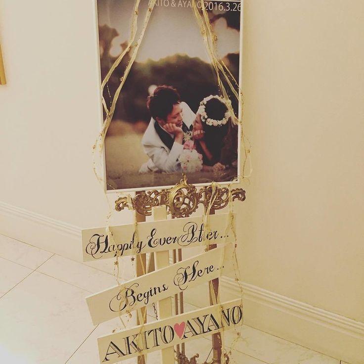 【結婚式レポ】たくさんのありがとうを込めた装飾こだわりウェディング♡