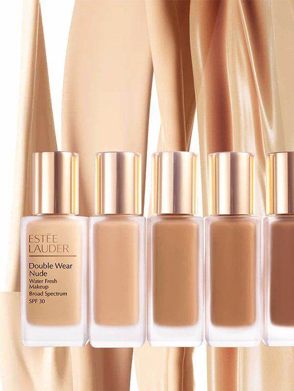 Estée Lauder Double Wear Nude Water Fresh Makeup (PR Image)