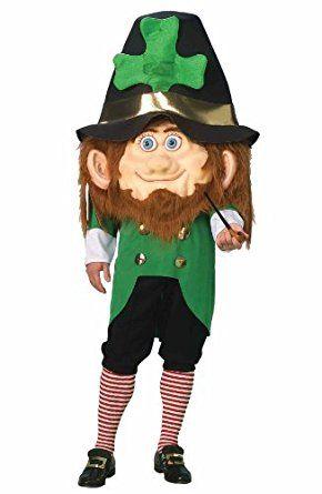 Amazon.com: Forum Parade Pleasers Oversized Leprechaun Costume, Green, Adult: Clothing