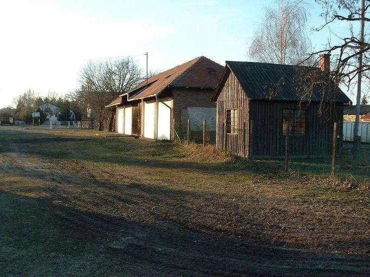 SzGV régi állomás / Szeged narrow gauge railway's (SzGV) old station