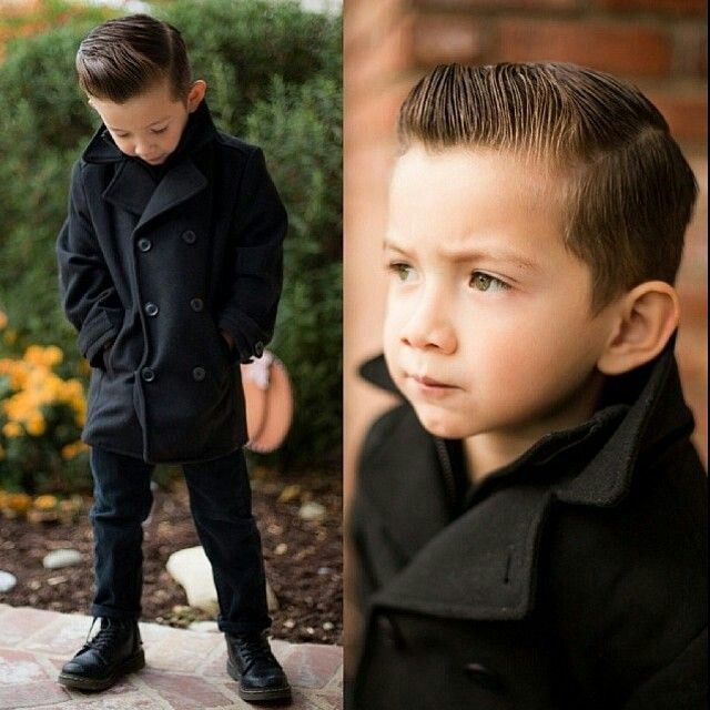 Boys fashion, boys hairstyle, kid fashion