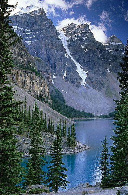 Moraine Lake - Flickr - Photo Sharing - Banff National Park, Alberta, Canada