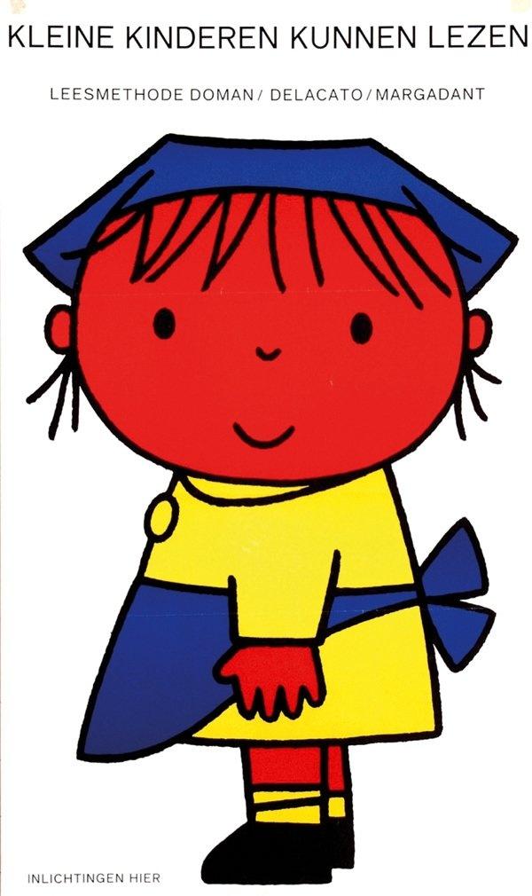 Dick Bruna - Kleine kinderen kunnen lezen (Little children can read).