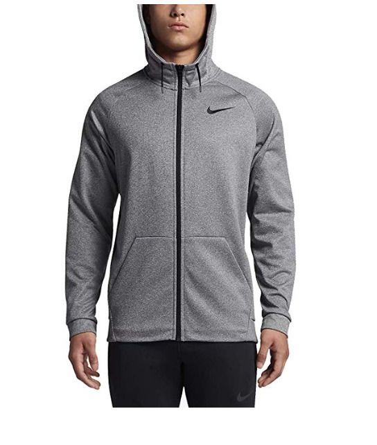 8041517c823d New Nike Mens Gray Therma Essential Training Full Zip Hoodie Jacket Size  2XL XXL  Nike  Hoodie
