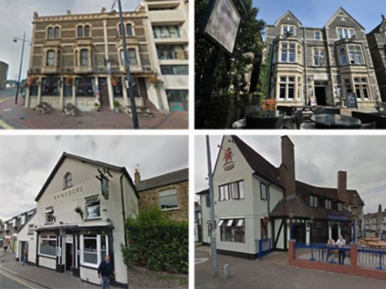 Can you name these Cardiff pubs?