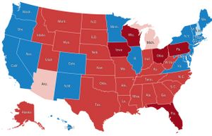 Live presidential election results and maps.