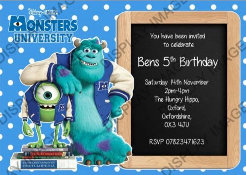 Best Party Planning Monsters Inc Party Ideas Images On - Childrens birthday party ideas oxford