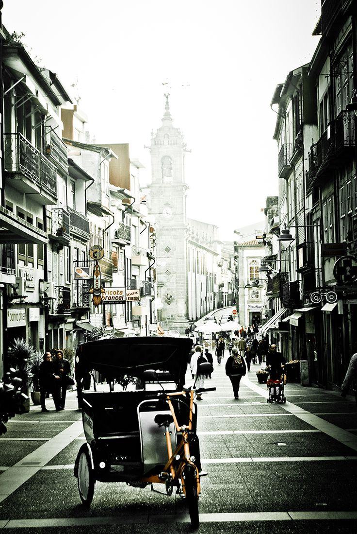 """#streetphotos: """"triciclo - braga"""""""