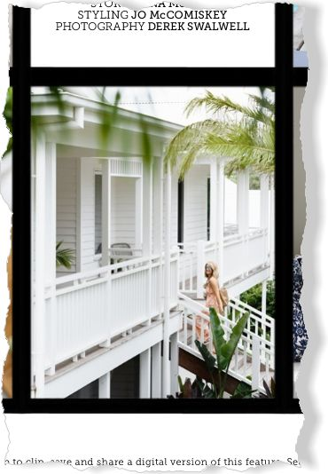 Homes: By the seaside.. Clipped from Home Beautiful using Netpage.