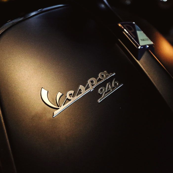 946 is derived from 1946, the year the first Vespa was made.