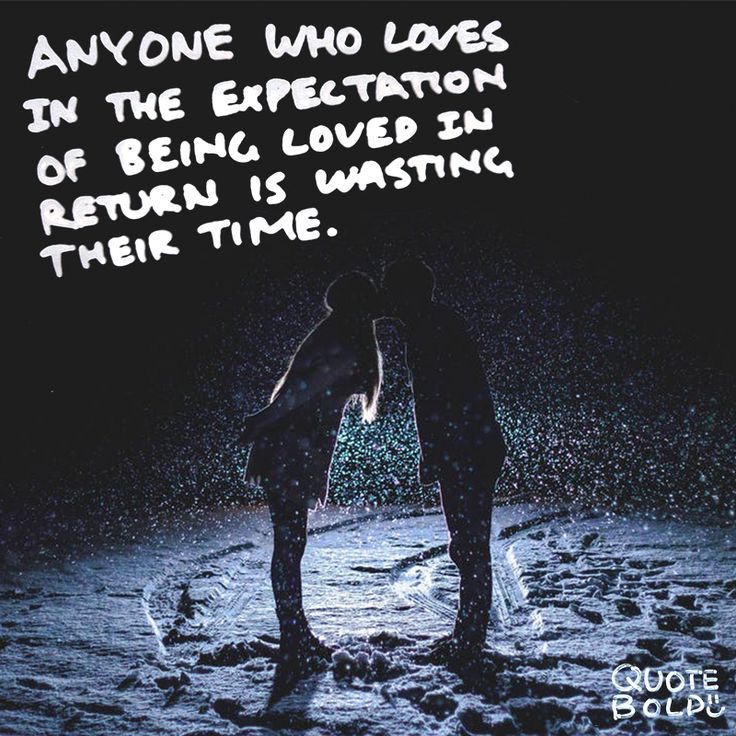 """Anyone who loves in the expectation of being loved in return is wasting their time."" - Paulo Coelho #loved #expectation     http://quotebold.com/love-quotes-romantic-ideas/"