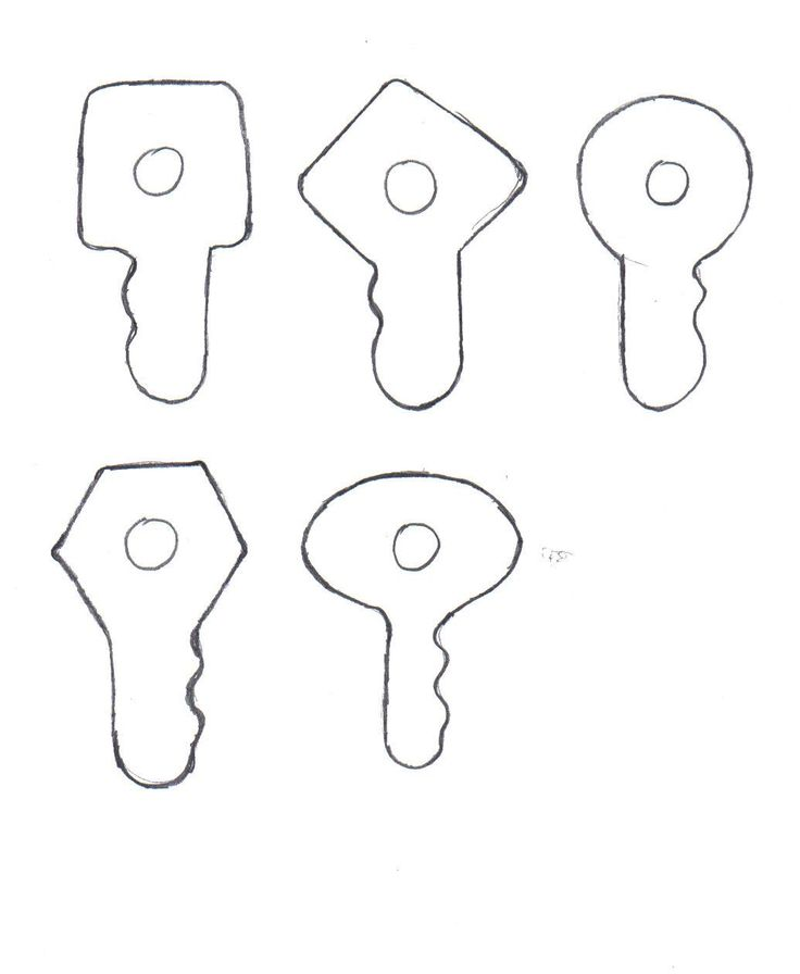 key clipart template - photo #33