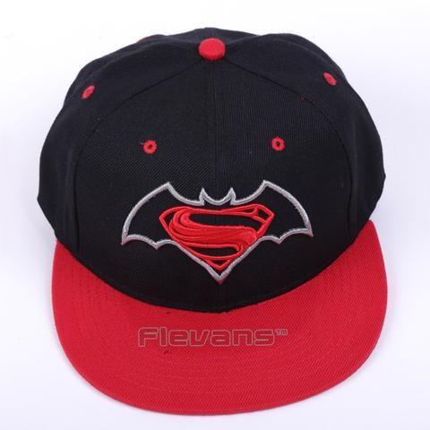 Superman Vs Batman Cool Red Streetwear Snapback Hat Cap  #Superman #Batman #Cool #Red #Streetwear #Snapback #Hat #Cap