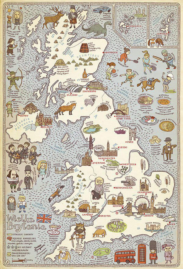 地図作成に使われている、素晴らしい10個のデザインアイデアまとめ