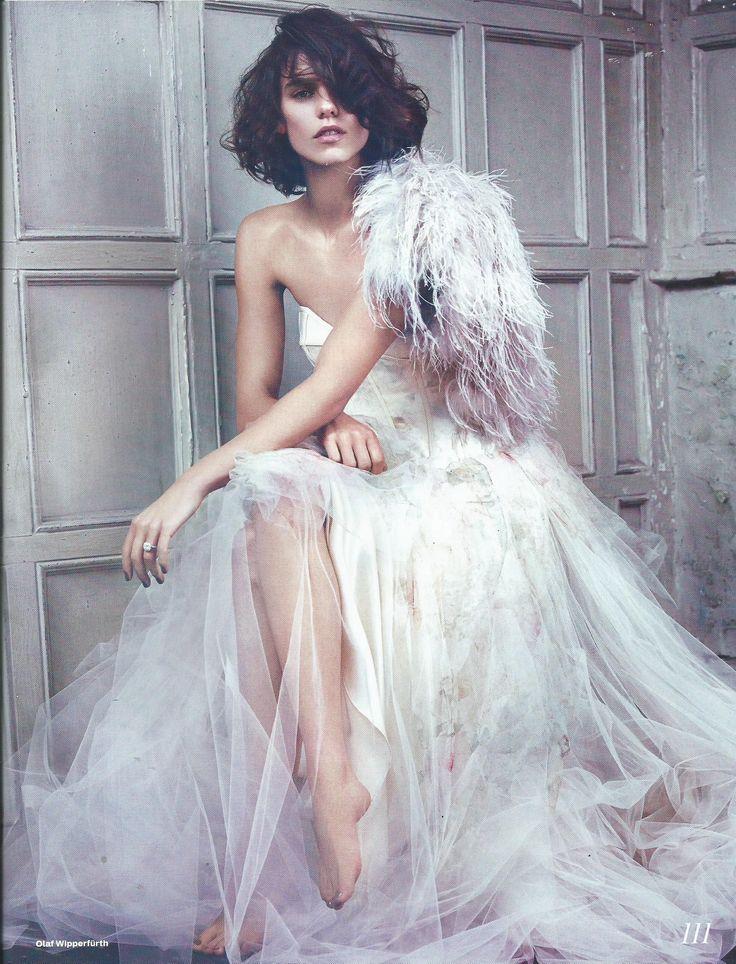 elle wedding uk - new editorial -david fielden dress
