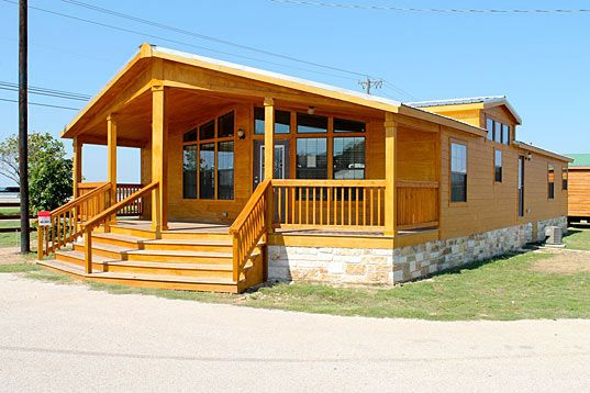 Texas manufactured homes modular homes and mobile homes for Log cabin single wide