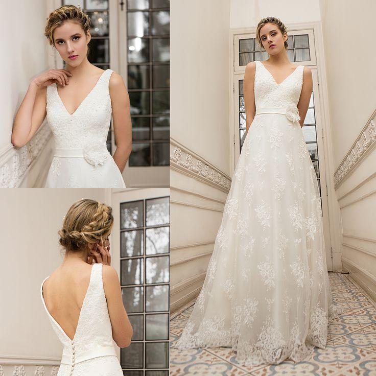 Vestido de novia clásico · Classic wedding dresses