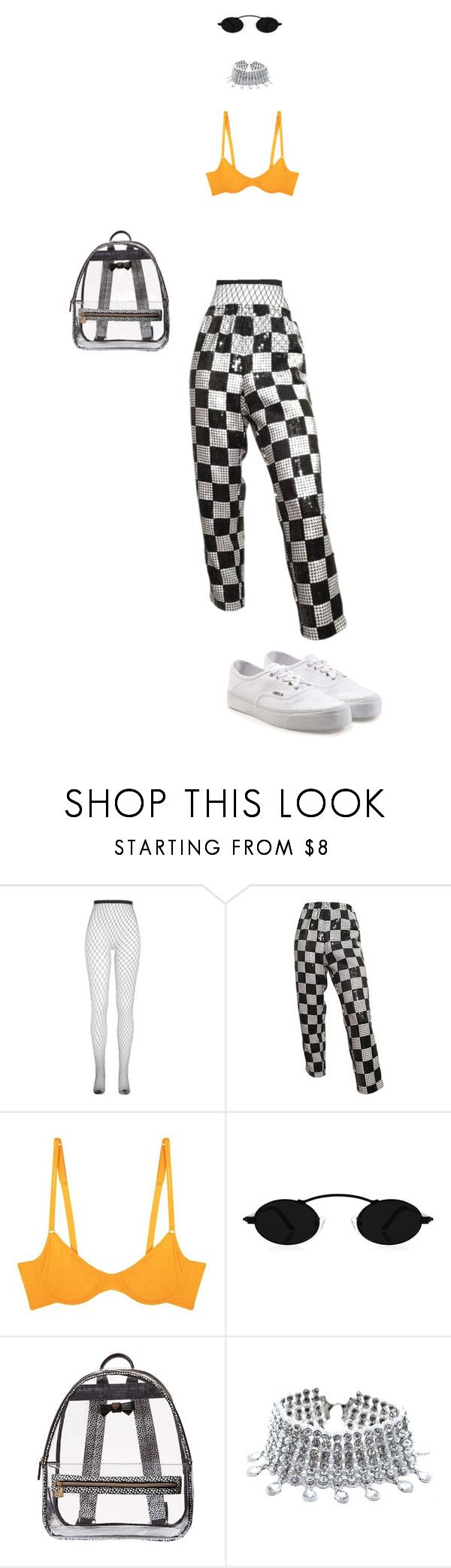 """bri"" by truuujb ❤ liked on Polyvore featuring Cosabella, Betsey Johnson, Child Of Wild and Vans"