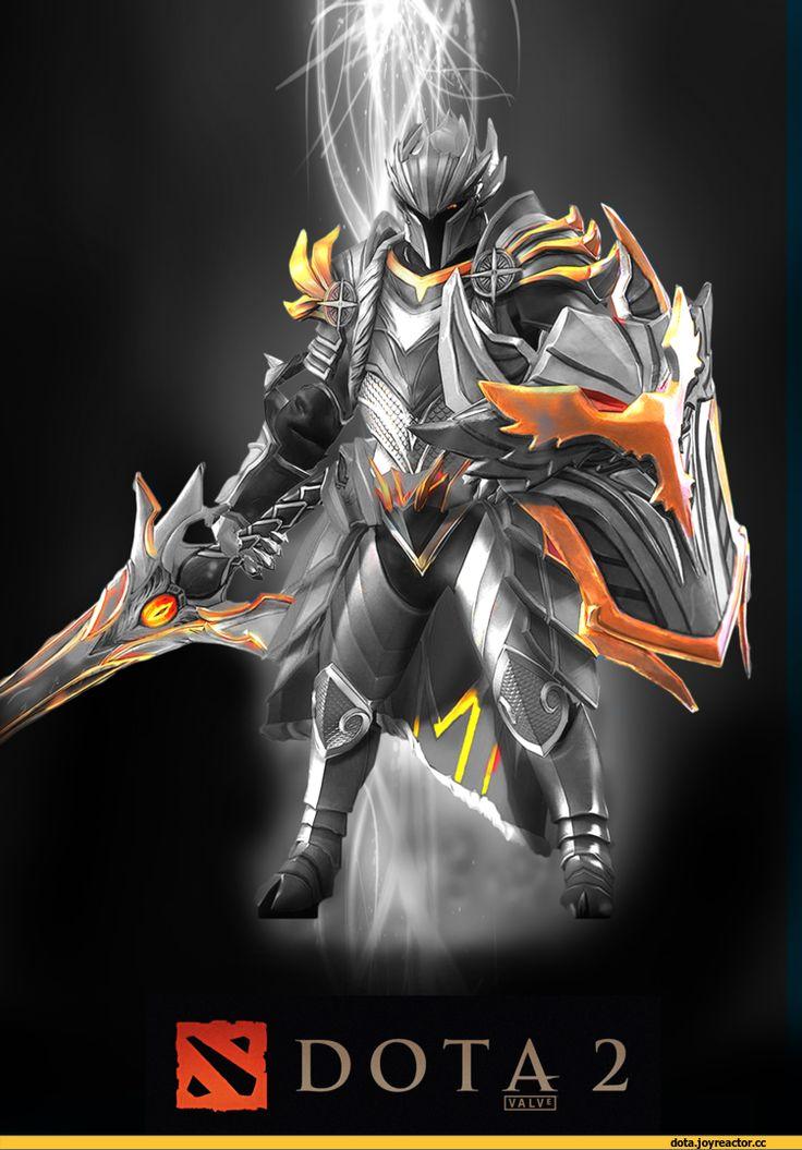 Dota 2,фэндомы,Dota Art,Dota,Davion the Dragon Knight,песочница