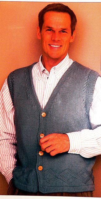 """Ravelry: Vested in """"My Guy"""" pattern by Nadia Severns  free Ravelry download"""