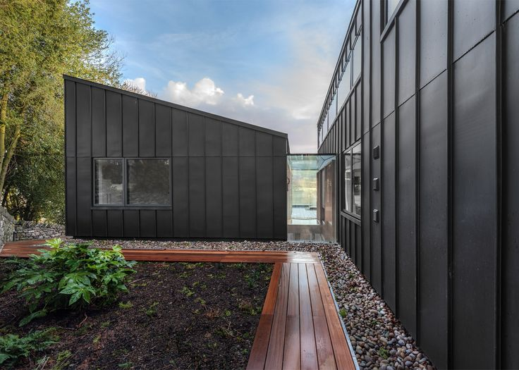 1000 images about houses on pinterest house extensions for Architecture zinc