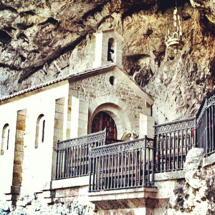 El santuario de Covadonga