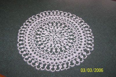 Lage Tatted Doily