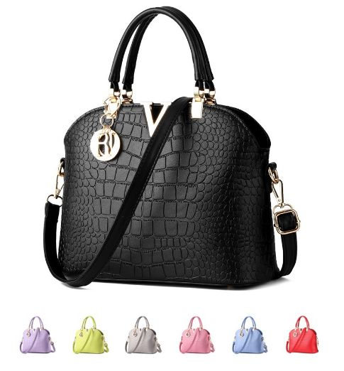 Women Leather Handbags Women Bags High Quality Women's Messenger Bags  Comes in Black, Light Gray, Lime Green, Red, Sky Blue, Navy Blue, Metallic Brown, Hot Pink, Soft Pink, White
